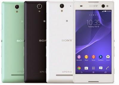 dihadirkan oleh Sony sebagai penerus dari penerus Xperia C yg menyasar  Harga Sony Xperia C3 Berikut Spesifikasinya